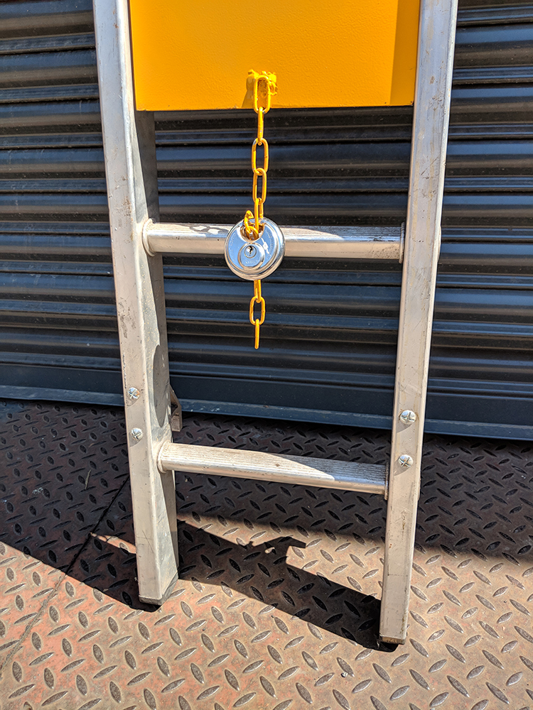 Ladder Guard Powder Coated Amp Galvanised Available Fast